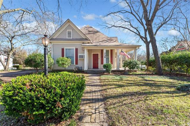 738 N Buffalo Avenue, Cleburne, TX 76033 (MLS #14264085) :: Real Estate By Design