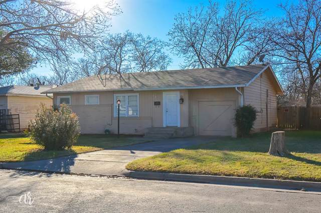 626 Woodlawn Drive, Abilene, TX 79603 (MLS #14264090) :: Real Estate By Design