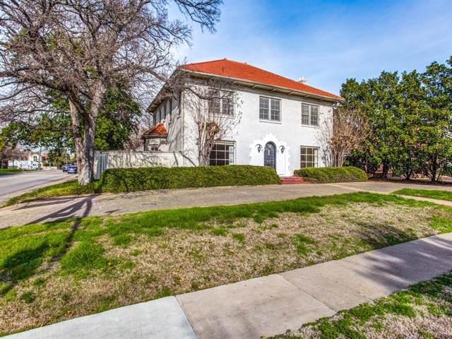 4036 Mcfarlin Boulevard, University Park, TX 75205 (MLS #14264092) :: The Chad Smith Team