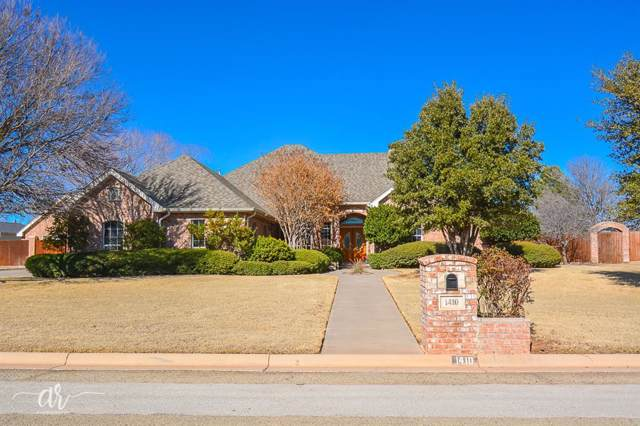 1410 Saddle Lakes Drive, Abilene, TX 79602 (MLS #14264103) :: Real Estate By Design