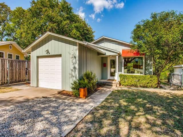 10311 Baronne Circle, Dallas, TX 75218 (MLS #14264119) :: The Hornburg Real Estate Group