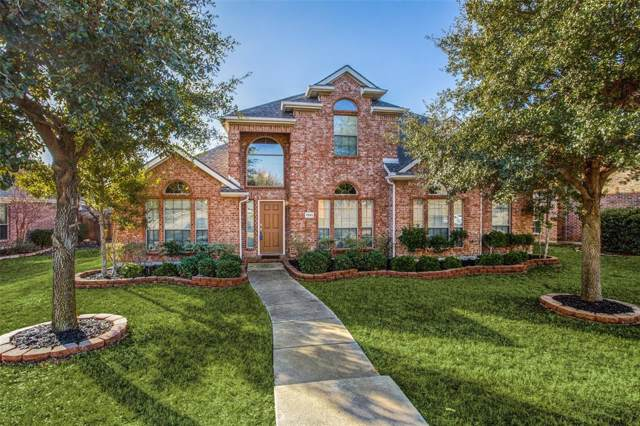 7891 Raintree Way, Frisco, TX 75033 (MLS #14264181) :: Real Estate By Design