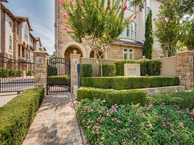 3310 Hall Court, Dallas, TX 75219 (MLS #14264190) :: The Hornburg Real Estate Group