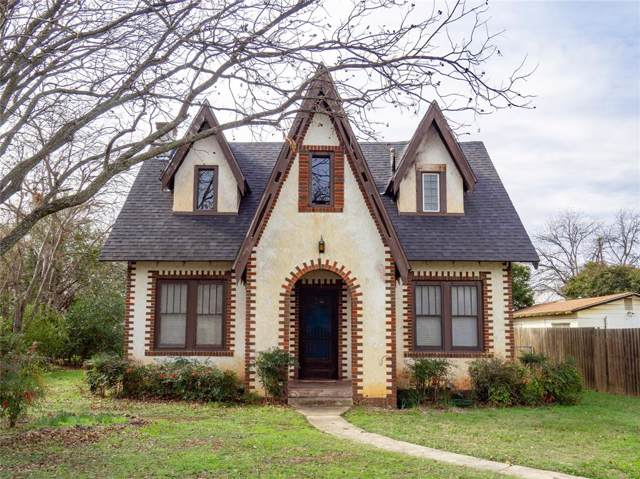 1909 Vincent Street, Brownwood, TX 76801 (MLS #14264231) :: The Mauelshagen Group