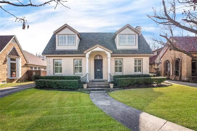 6612 Lakeshore Drive, Dallas, TX 75214 (MLS #14264234) :: Bray Real Estate Group