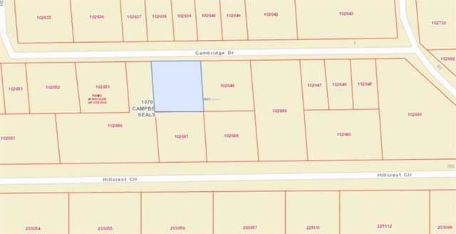 311-312 Cambridge, Gordonville, TX 76245 (MLS #14264330) :: Frankie Arthur Real Estate
