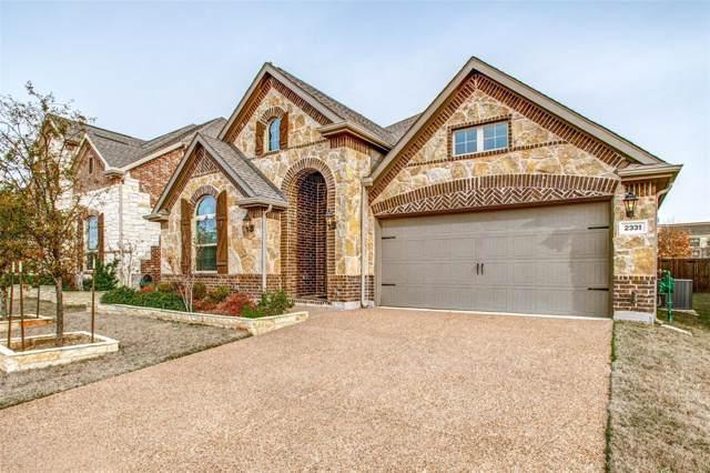 2331 Prairie Wind Path, Lewisville, TX 75056 (MLS #14264339) :: The Real Estate Station