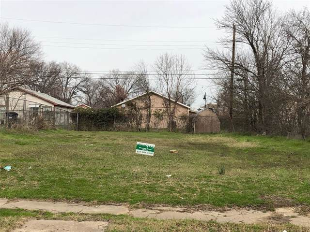 1025 E Tucker Street, Fort Worth, TX 76104 (MLS #14264368) :: Real Estate By Design