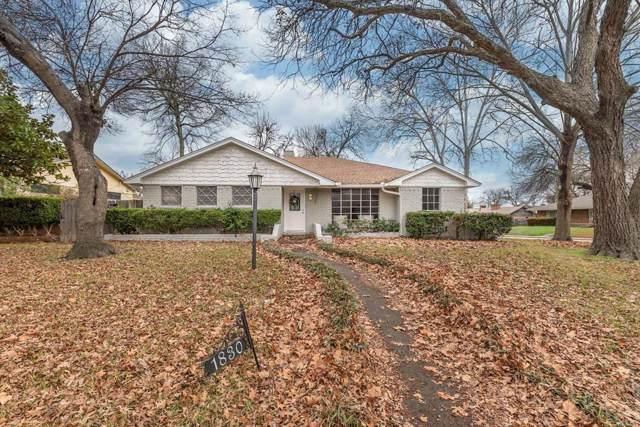 1830 Matagorda Drive, Dallas, TX 75232 (MLS #14264396) :: North Texas Team | RE/MAX Lifestyle Property