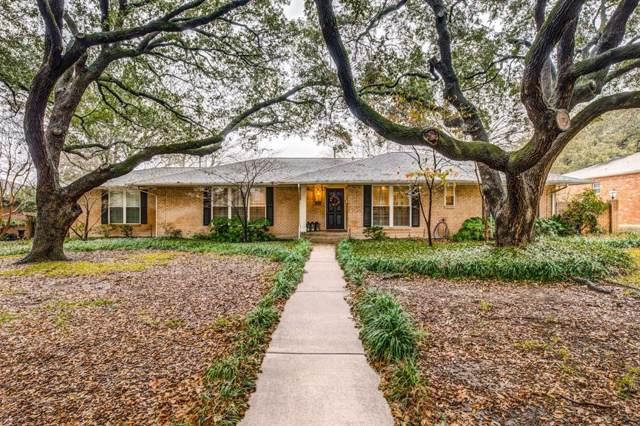5623 Meadowcrest Drive, Dallas, TX 75230 (MLS #14264481) :: Caine Premier Properties
