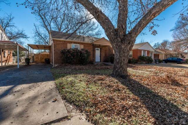 2701 W Bewick Street, Fort Worth, TX 76109 (MLS #14264627) :: All Cities Realty