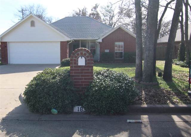 1838 Rayna Drive, Weatherford, TX 76086 (MLS #14264688) :: NewHomePrograms.com LLC