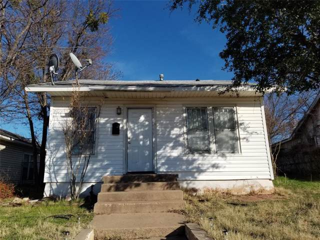 341 Amarillo Street, Abilene, TX 79602 (MLS #14264782) :: The Chad Smith Team