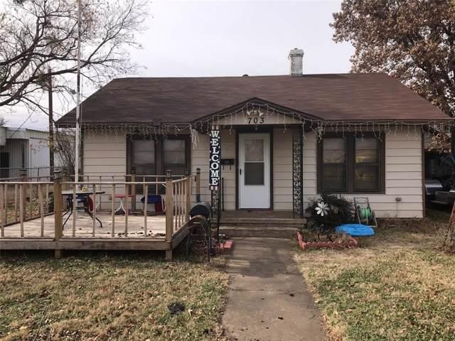 703 N Arkansas Street, Seymour, TX 76380 (MLS #14264809) :: Team Hodnett