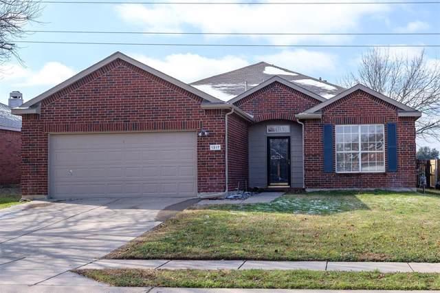 1317 River Ridge Road, Roanoke, TX 76262 (MLS #14264848) :: Lynn Wilson with Keller Williams DFW/Southlake