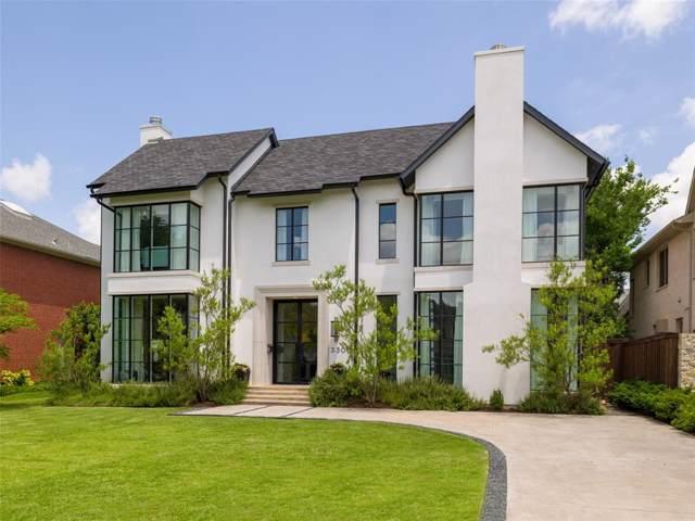 3300 Colgate Avenue, University Park, TX 75225 (MLS #14264880) :: Ann Carr Real Estate