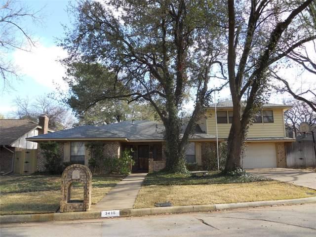 3415 Walden Trail, Arlington, TX 76016 (MLS #14265014) :: Team Hodnett