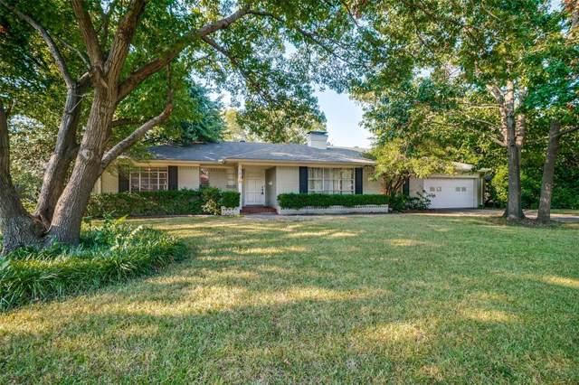 5830 Northmoor Drive, Dallas, TX 75230 (MLS #14265107) :: Caine Premier Properties