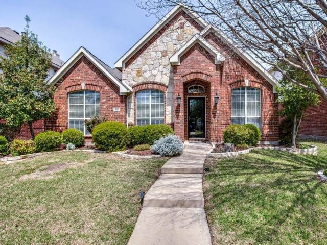 421 Spring Air Drive, Allen, TX 75002 (MLS #14265156) :: The Kimberly Davis Group