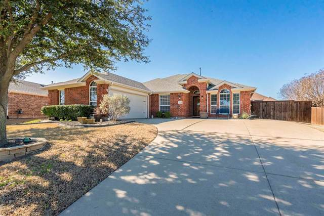 12239 Latigo Drive, Frisco, TX 75035 (MLS #14265201) :: Maegan Brest | Keller Williams Realty