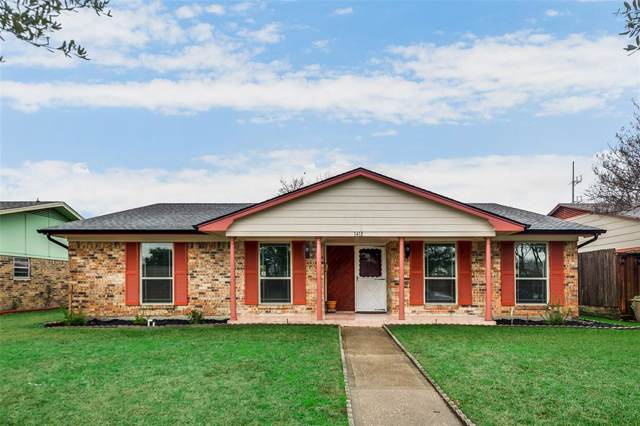 3418 O Henry Drive, Garland, TX 75042 (MLS #14265217) :: North Texas Team | RE/MAX Lifestyle Property