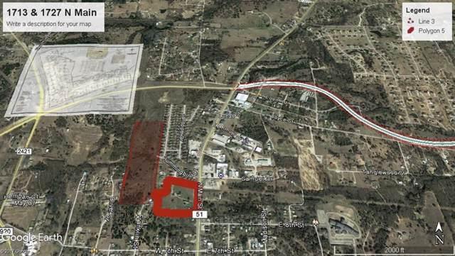 1727 N Main Street, Weatherford, TX 76085 (MLS #14265240) :: NewHomePrograms.com LLC