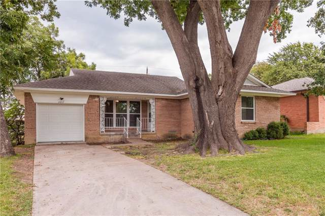 2657 San Medina Avenue, Dallas, TX 75228 (MLS #14265260) :: Maegan Brest | Keller Williams Realty