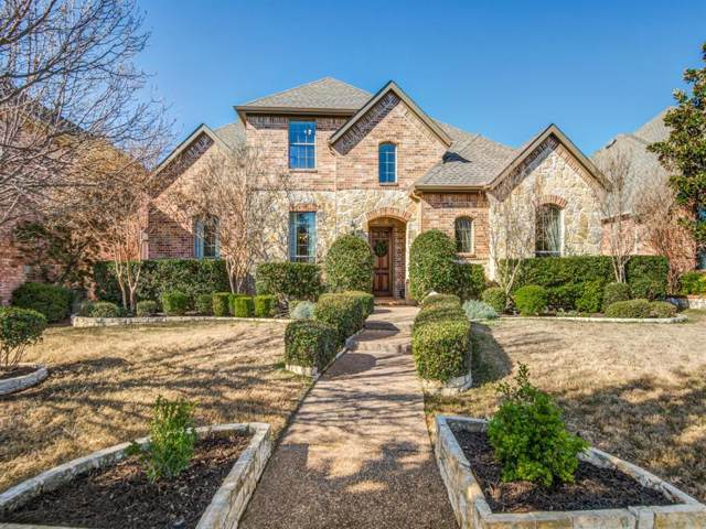 424 Black Castle Drive, Lewisville, TX 75056 (MLS #14265345) :: The Kimberly Davis Group