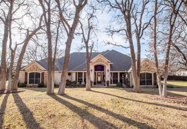 146 Forest Creek Circle, Weatherford, TX 76088 (MLS #14265424) :: NewHomePrograms.com LLC