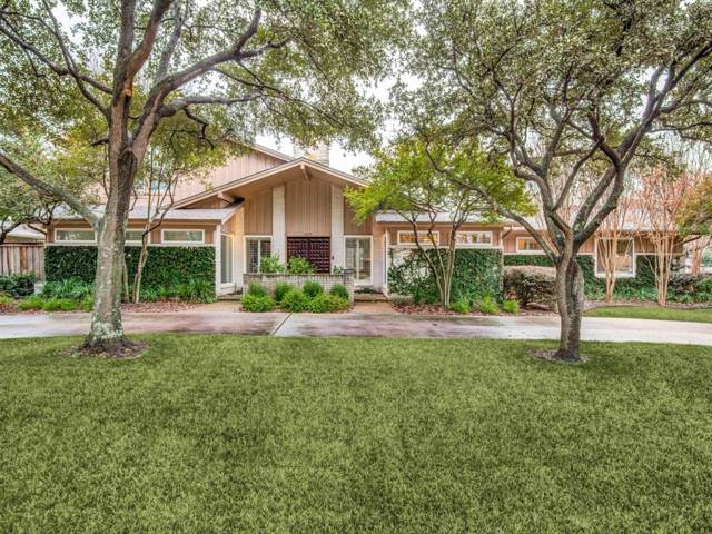 4110 Shady Hill Drive, Dallas, TX 75229 (MLS #14265485) :: The Heyl Group at Keller Williams