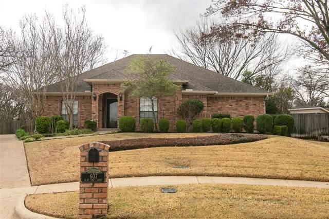 607 Bent Tree Court, Euless, TX 76039 (MLS #14265651) :: Bray Real Estate Group