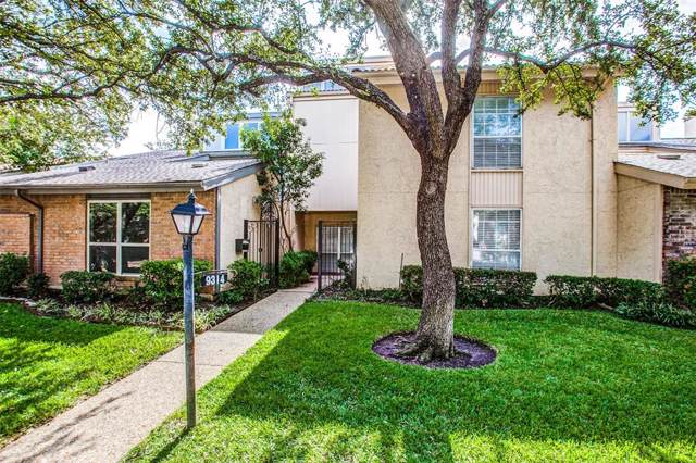 9314 Chimney Sweep Lane, Dallas, TX 75243 (MLS #14265752) :: The Real Estate Station