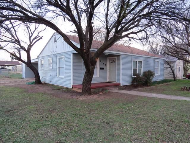 1349 Lillius Street, Abilene, TX 79603 (MLS #14265789) :: RE/MAX Pinnacle Group REALTORS