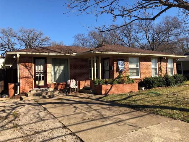607 Andrews Street, Arlington, TX 76011 (MLS #14265807) :: All Cities Realty