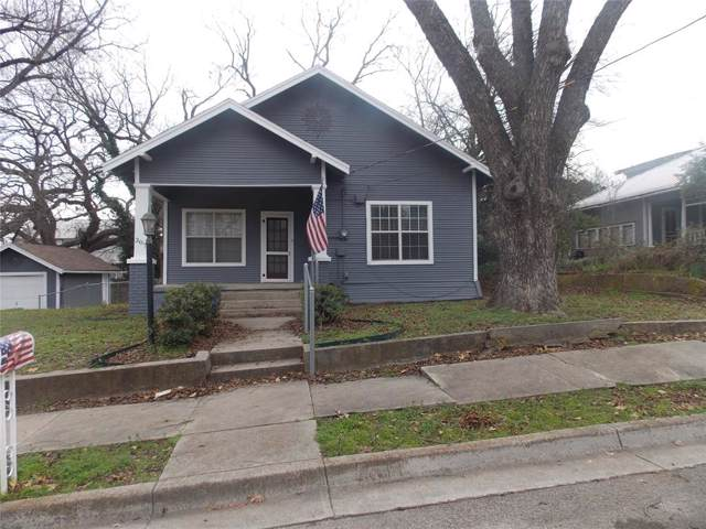 307 W Bridge Street, Weatherford, TX 76086 (MLS #14266018) :: NewHomePrograms.com LLC