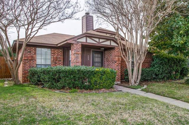 543 Kirkland Drive, Coppell, TX 75019 (MLS #14266061) :: Hargrove Realty Group