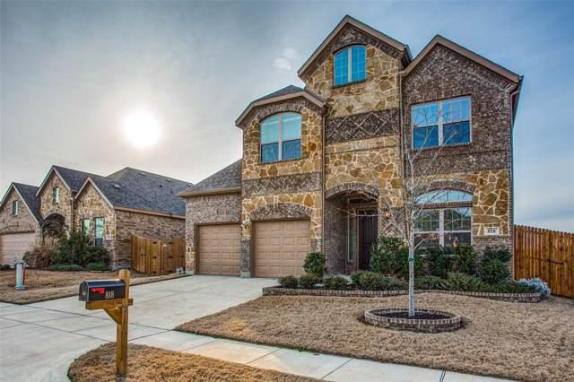 818 Cauble Drive, Fate, TX 75087 (MLS #14266087) :: RE/MAX Landmark