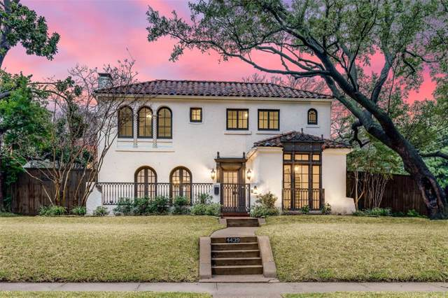 4439 Rawlins Street, Dallas, TX 75219 (MLS #14266148) :: RE/MAX Town & Country