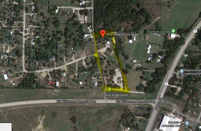 2412 Hawkins Lilly Road, Weatherford, TX 76085 (MLS #14266243) :: All Cities Realty