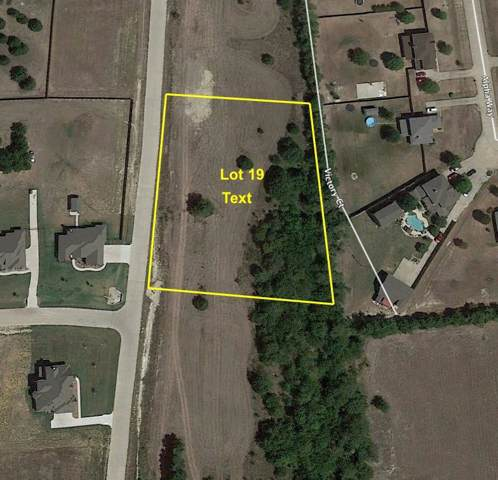 Lot 19 Lizzy Lane, Midlothian, TX 76065 (MLS #14266354) :: The Mauelshagen Group