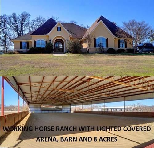 2233 Dr. Sanders Road, Cross Roads, TX 76227 (MLS #14266470) :: Team Hodnett
