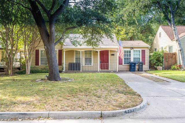 4233 Geddes Avenue, Fort Worth, TX 76107 (MLS #14266510) :: The Mitchell Group