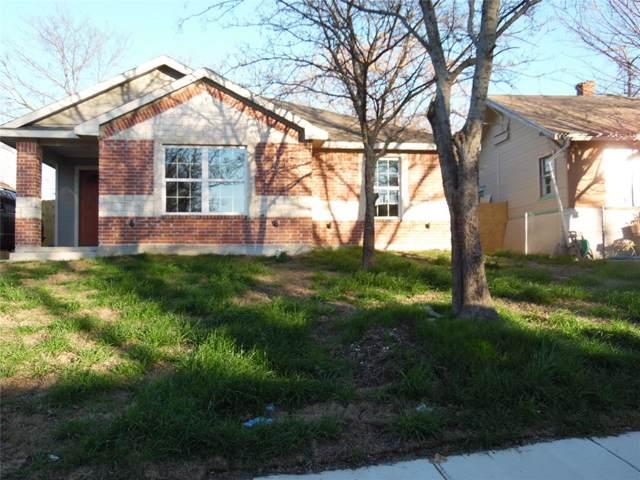1514 Carson Street, Dallas, TX 75216 (MLS #14266539) :: Baldree Home Team