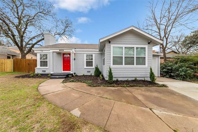 6433 Calmont Avenue, Fort Worth, TX 76116 (MLS #14266573) :: The Kimberly Davis Group