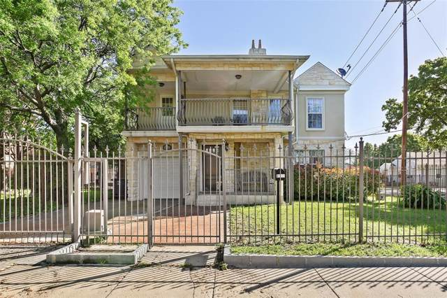 2100 Caddo Street, Dallas, TX 75204 (MLS #14266576) :: Frankie Arthur Real Estate