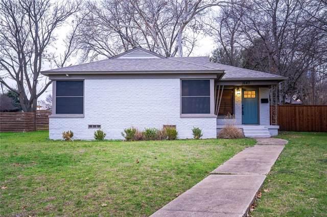 1643 Hollywood Avenue, Dallas, TX 75208 (MLS #14266580) :: Vibrant Real Estate