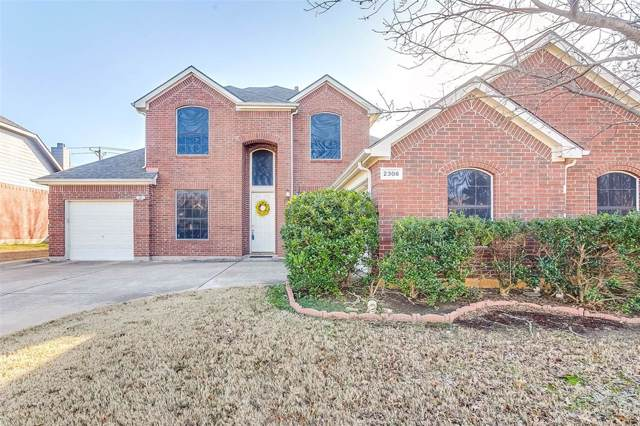 2306 Galway Drive, Mansfield, TX 76063 (MLS #14266677) :: The Chad Smith Team