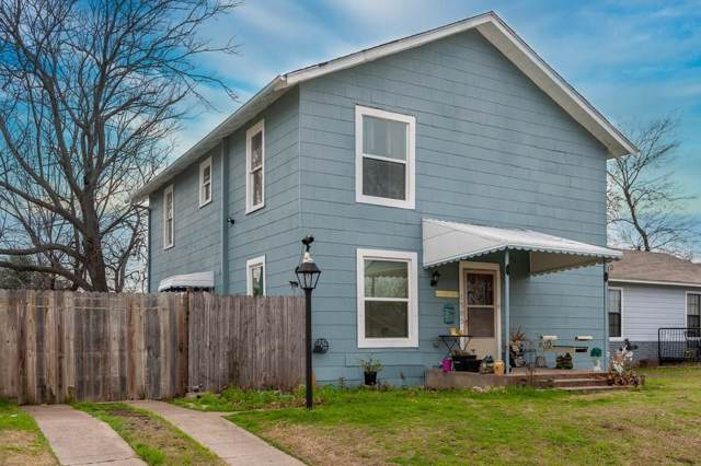 1305 W Shaw Street, Fort Worth, TX 76110 (MLS #14266735) :: The Hornburg Real Estate Group