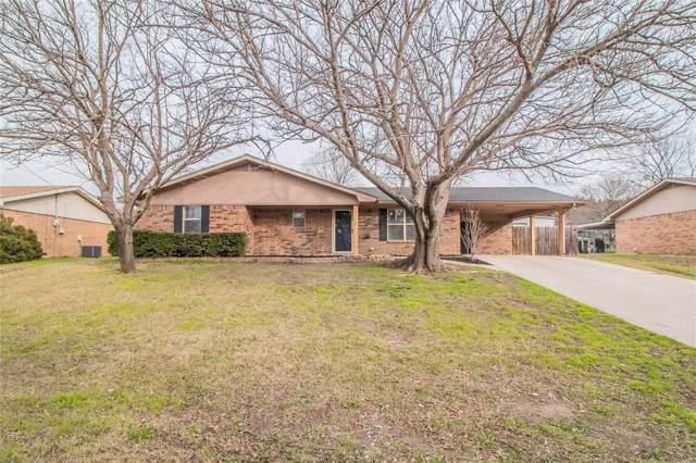 1000 N Chico Street, Decatur, TX 76234 (MLS #14266910) :: The Good Home Team