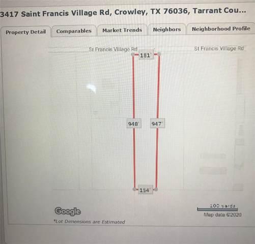 3417 Saint Francis Village Road, Crowley, TX 76036 (MLS #14266933) :: Century 21 Judge Fite Company